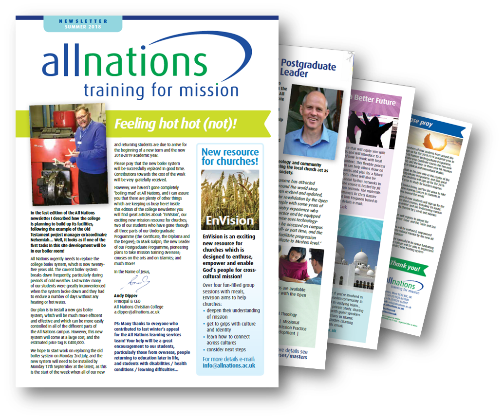 All Nations Newsletter 2018